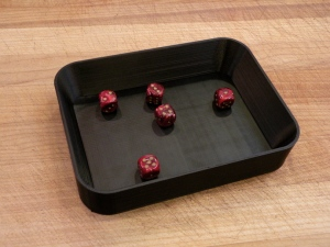 Printed Dice Tray